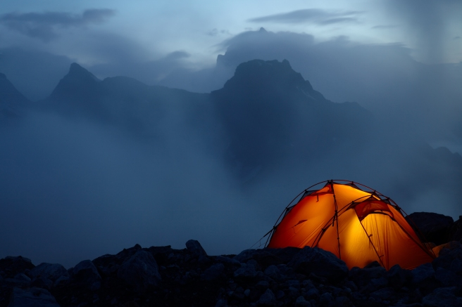 tent on mountain 2